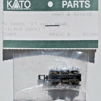 Kato N Scale Truck for 'F' Unit, Rear. Silver. New.