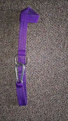 stable or tack room tidy Westernway Hay net hanger Horse box // lorry Purple