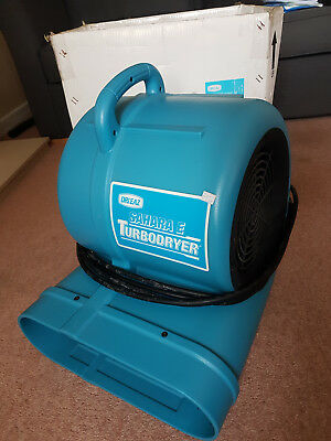 Drieaz Sahara turbo dryer - powerful electric fan air mover