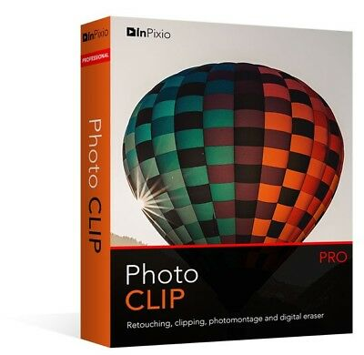 InPixio Photo Clip Professional 8.6  / Photo Editor / Buy 1 Get 2, Download