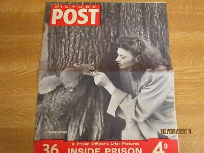 November 20th 1948, PICTURE POST, T S Eliot, Constance Stacklock, Irene Worth.