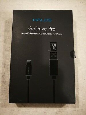MicroSD Card Reader And Lightning Connecter 2-in-1 Halos GoDrive