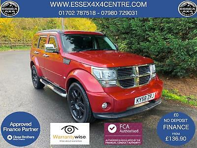 2008 (58) Dodge Nitro 2.8 Crd Sxt Automatic 4X4 Turbo Diesel - Only 54,487 Miles