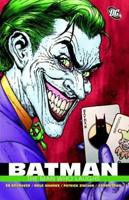 Batman The Man Who Laughs by Ed Brubaker 9781401216269 (Paperback, 2009)