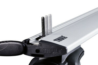 Thule T-track Adapter 697-6 Fits Roof Box Directly To T-Track Bars - Elegantly