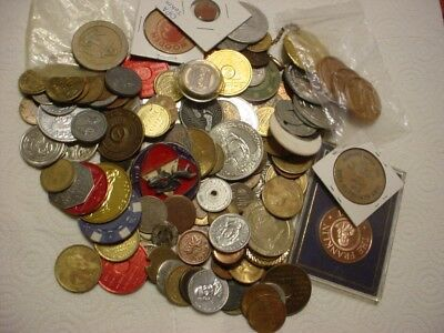 2 Pound--Trade Tokens--Huge Mixed Lot--Advertising
