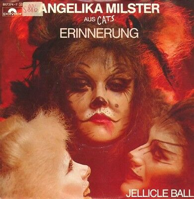 Vinyl Single: Angelika Milster - Erinnerung (Cats) / Jellicle Ball (instr) S886