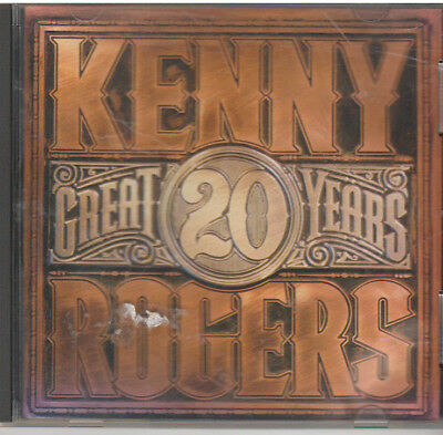 20 GREAT YEARS Kenny Rogers (CD, 1990, Reprise)