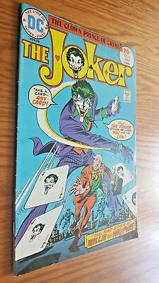 THE JOKER #2 (7/75) Key Early Issue The Clown Prince of Crime DC *VF- copy