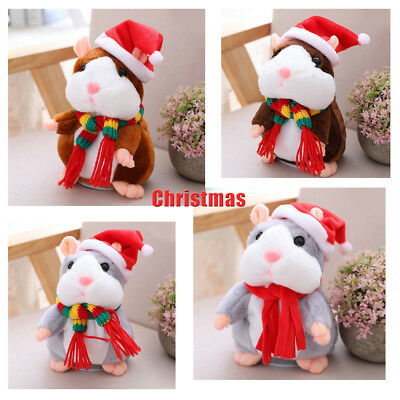 Cheeky Hamster Funny Christmas Gift Baby Kids Recordable Toy UK