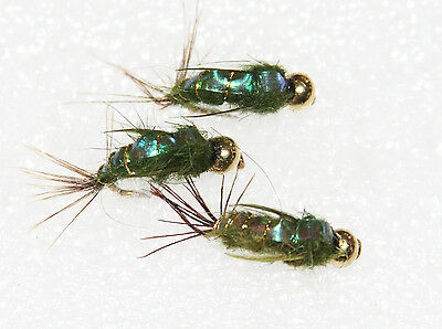 Flashback Nymphs Choice Of Colour Size & Qty Trout Grayling & Panfish Flies Wet