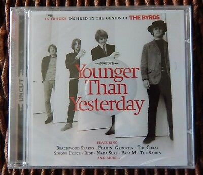 Uncut Magazine CD - Younger Than Yesterday Inspired by The Byrds 2012 New/Sealed