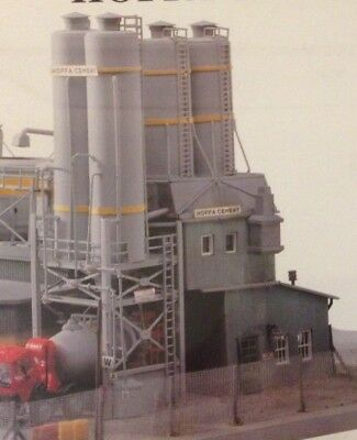 Hoffa Cement Silos Model Power #298 HO Scale Out of production  Rare,