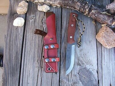 TOPS BOB Brothers of Bushcraft LF Custom Leather Scout Sheath (sheath only)
