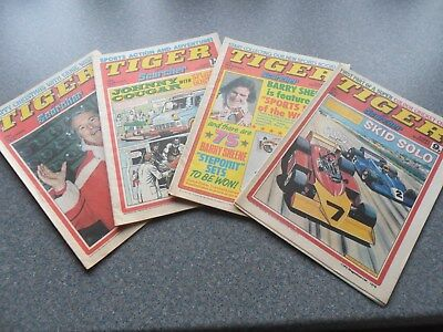 Tiger and Scorcher Comics.
