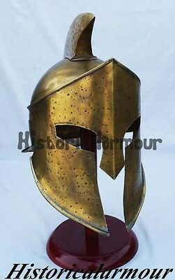 New 300 Movie Medieval King Roman Leonidas Spartan Helmet  FREE SHIPPING WORLDWI