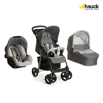 Hauck 3 in 1 Kinderwagen komplettset Shopper SLX Trio Set, inkl. Babyliegeschale