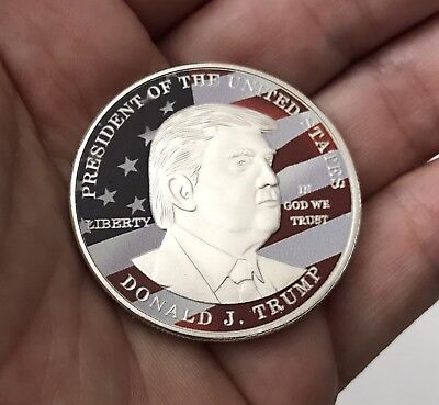 Donald Trump President U.s. Make America Great Again Challenge Coin Non Nypd Cpo