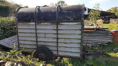 Old Cattle Trailer in need of repair