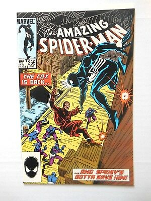 Amazing Spider-Man #265 In Vf/nm Or Better First Silver Sable First Printing