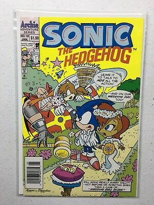 Sonic the Hedgehog #18  Archie 1993 Comic Book Series