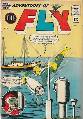 The Adventures Of The Fly. Number 28. 12 Cent . Archie. 1963