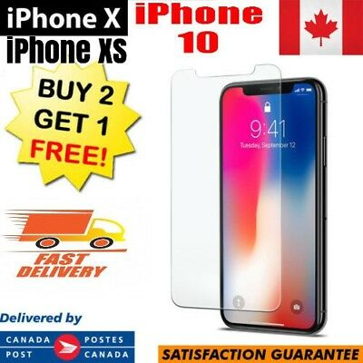 REAL HD PREMIUM Tempered Glass Screen Protector For Apple iPhone X XS 10