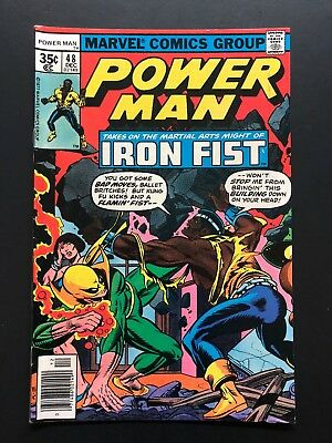 Power Man #48 - First meeting Power Man & Iron Fist-CHECK OUT MY STORE!