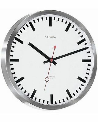 Hermle -grand Central- 30471-002100 Modern Wall Clock with Quartzwerk,Includes