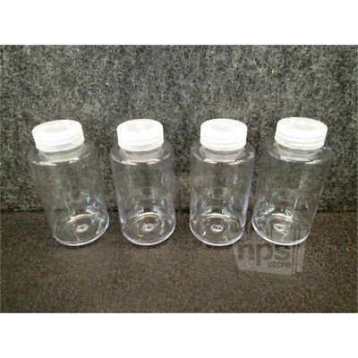 Lot of 4 Thermo Scientific 3122-0250 Polycarbonate Centrifuge 250mL Bottles