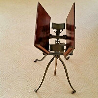Antique Ca. 1895  Victorian Adjustable  Cast Iron Dictionary /Bible Stand