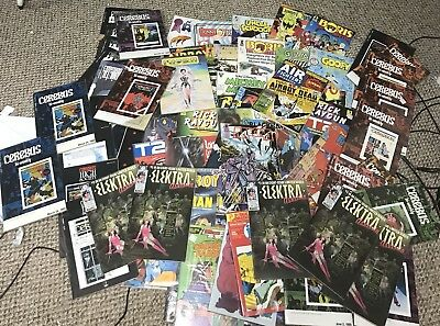83 Huge Comic Book Lot Marvel Dc  Epic Lots Of Titles Free Shipping