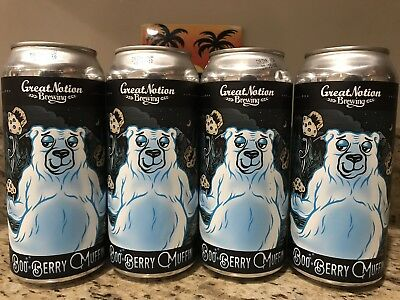 Great Notion Brewing Boo-Berry Muffin 4 Pack