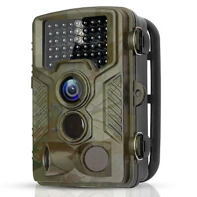 BYbrutek Trail Camera, 16MP 1080P Full HD Deer Hunting Game Camera, 0.2S Motion
