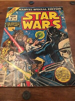 Star Wars Giant Comic Marvel Special Edition