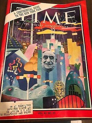 Time Magazine June 5, 1964- Guide To The New York Fair