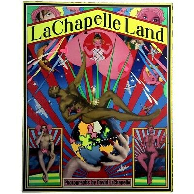 """DAVID LACHAPELLE BOOK """"LaChapelle Land"""" 2006, Hardcover, FRENCH limited Édition"""