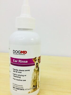 NEW! BAYER EXPERT Care Ear Care for Dogs: Ear Cleansing