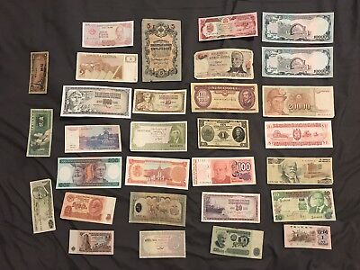 Collection of Antique and Foreign Money