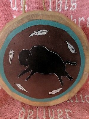 Native American Themed Drum