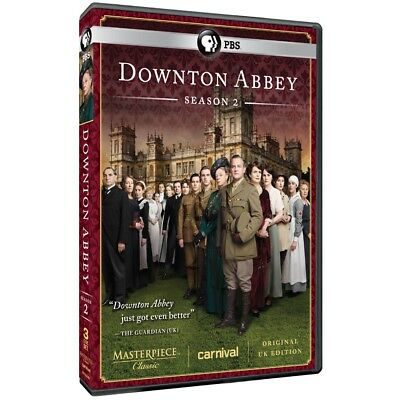 Downton Abbey: Season 2 (DVD, 2012, 3-Disc Set, Original UK Edition)