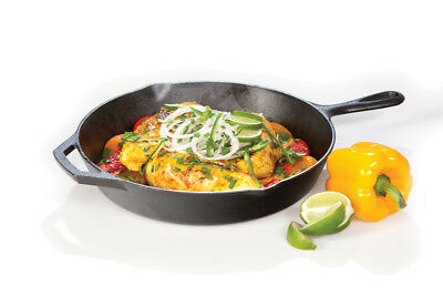 "Lodge Logic 12"" Skillet, Seasoned Cast Iron with assist handle"