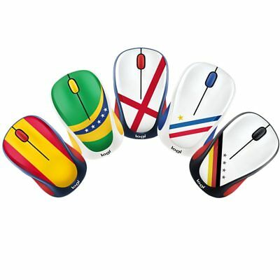 32ad97fe0c3 Logitech M238 Fans Flag Collector's Edition Wireless Mouse For 2018 World  Cup