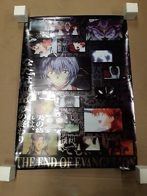 End Of Evangelion Holographic Poster 1997