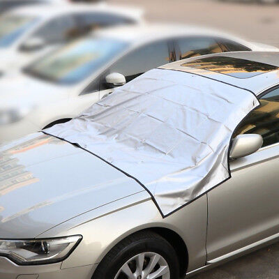 Magnetic Windscreen Cover Car Ice Frost Snow Dust Protector Sun Shade Screen