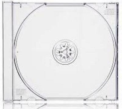 100 Replacement Trays CLEAR Inserts For CD Music Games DVD Standard Jewel Cases