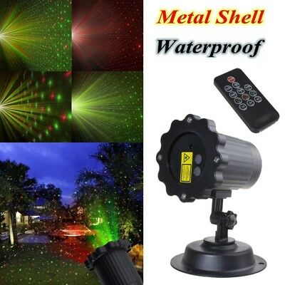 Outdoor R&G Christmas Landscape Laser Projector Shower Garden Xmas Light Lamp
