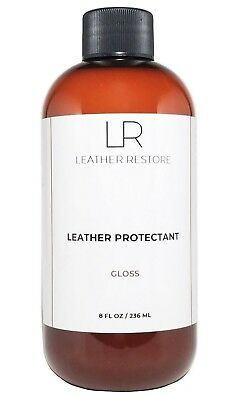 Leather Restore Leather Protector Waterproof Couch Furniture Car Shoes Gloss 8oz