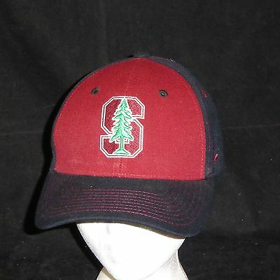 san francisco 40d84 54cd0 Zephyr Stanford Cardinal Stretch Fit Baseball Hat M Large Size
