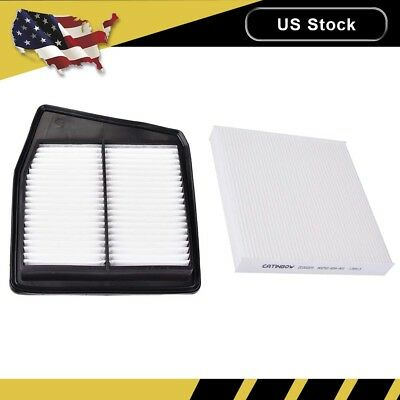 Combo Engine & Cabin Air Filter For ACURA TSX 2.4L 09 10 11 12 13 14 4CYL Only